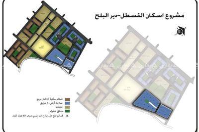 ارض للبيع ١٠٠١م في المنطقة الوسطى شرق دير البلح