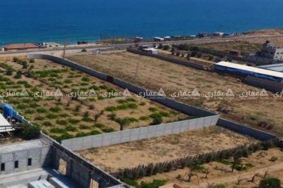 قطعه ارض فى دير البلح للبيع