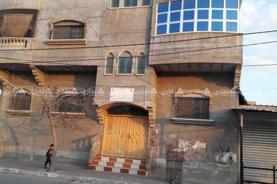 منزل للبيع خلف مستشفى أبو يوسف النجار